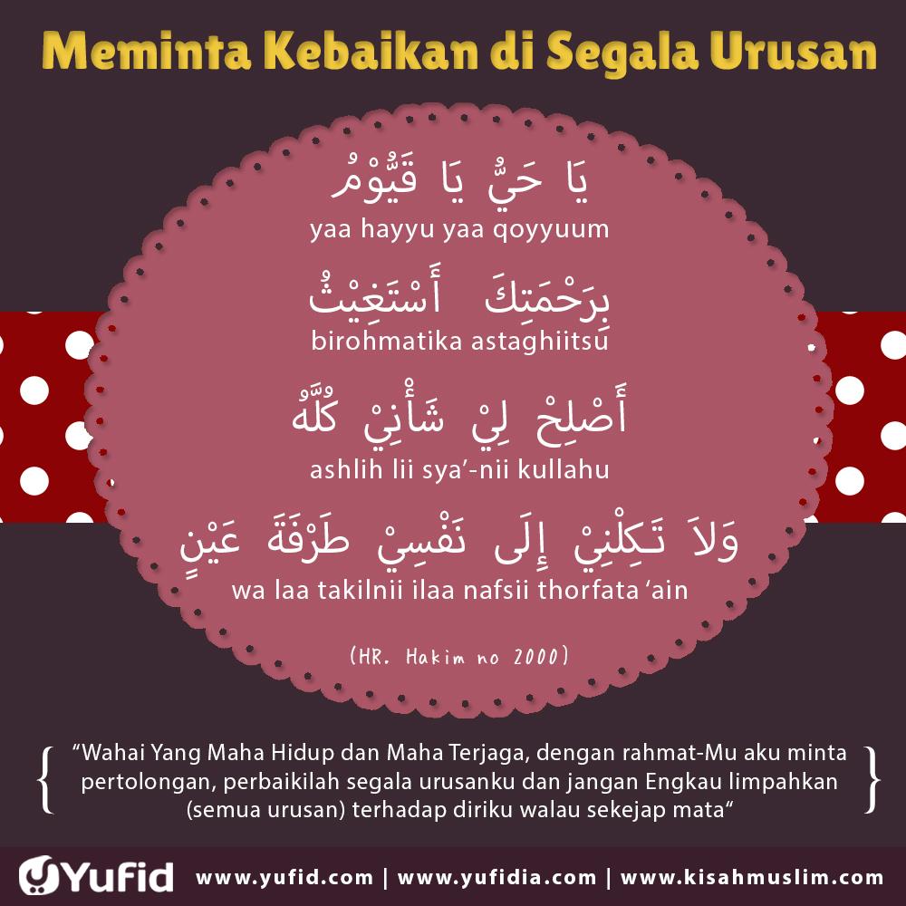 Doa Meminta Kemudahan dan Kebaikan di Segala Urusan