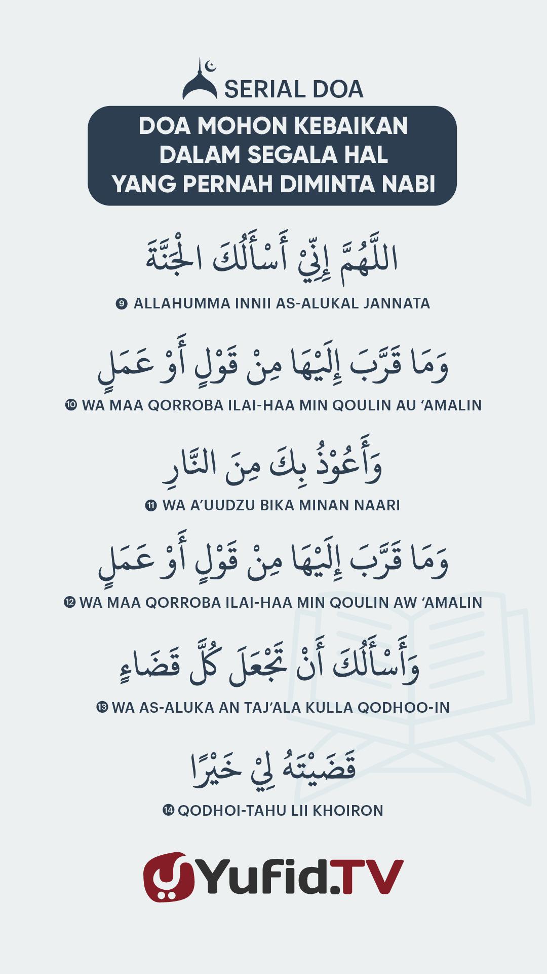 Doa Mohon Kebaikan dalam Segala Hal yang Pernah Diminta Nabi – Vertical3@72x